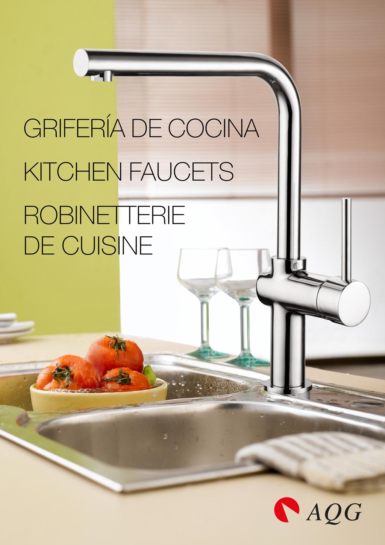 Cat logo grifos duchas grifer a de ba o y cocina - Catalogo cocinas pdf ...